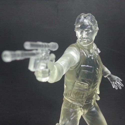 Han Solo by milostutu 3D Printed on a Form 2 in clear resin